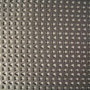 Triangle Perforated Metal Sheet